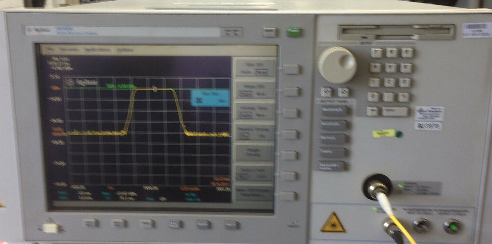 Agilent 86146B / 006 and UK6 Optical Spectrum Analyzer   OSA