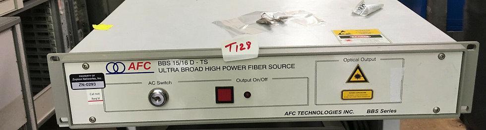 JDSU / AFC Ultra BROAD BBS high power fiber source model BBS1516SSR1C-MUX