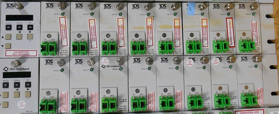 JDSU  MTA150 Attenuator mainframe  W/8 X MTA300  ~  HA9