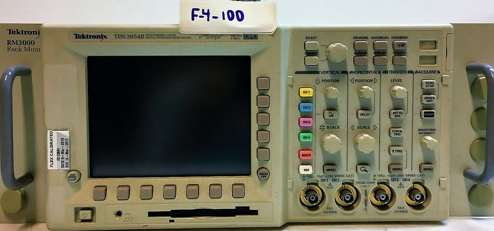 Tektronix TDS 3054B Four Channel Color Digital Phosphor Oscilloscope