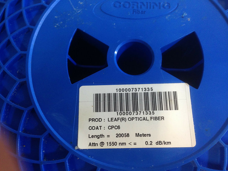 Corning Leaf (R)Optical Bare Fiber 20000 meters /20km