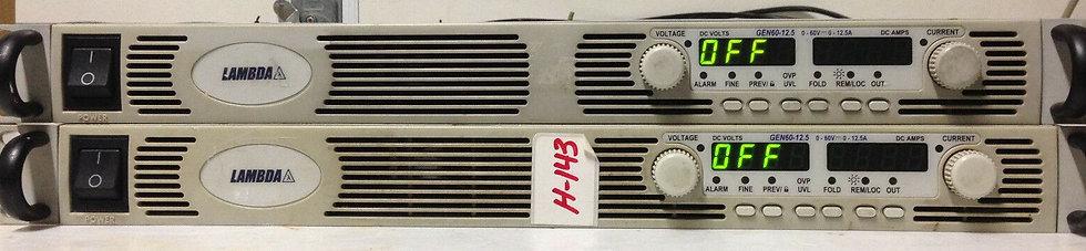TDK - Lambda GEN 60-12.5 Programmable DC Power Supply