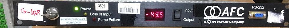 JDS Uniphase AFC Pump Controller