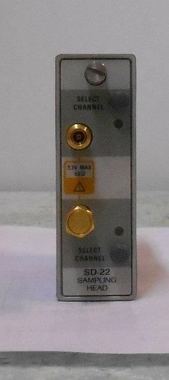 Tektronix SD-22 low noise sampling head 12.5GHz