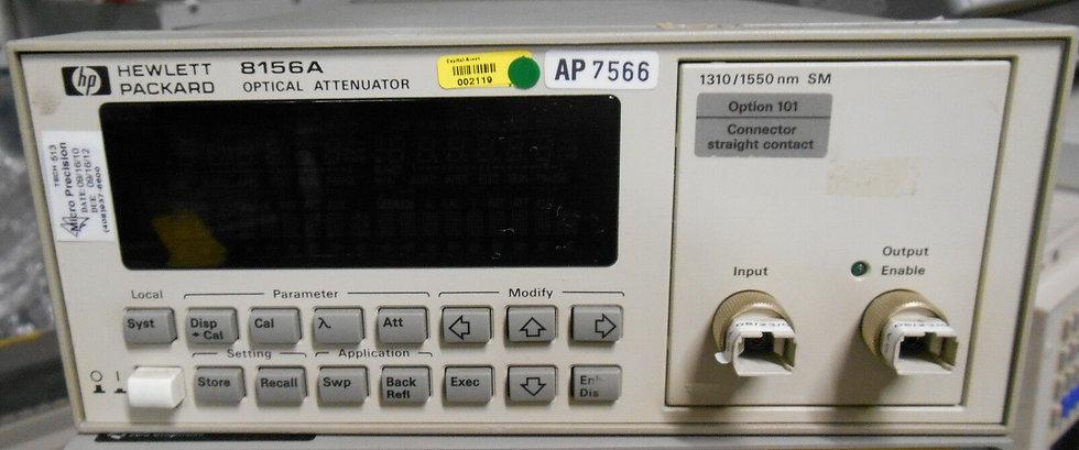 HP 8156A Optical Attenunator Option 101