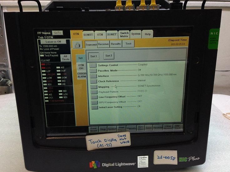 Digital Lightwave NIC PLUS XXH42XXXXX PORTABLE NETWORK INFORMATION