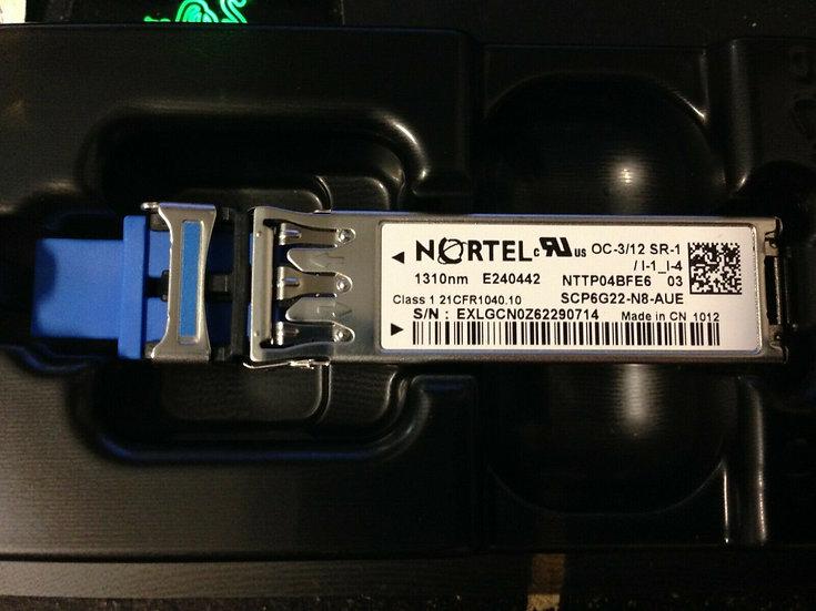Nortel OC 3/12 SR-1/I1_I4  NTTP04BFE6 03   1310nm
