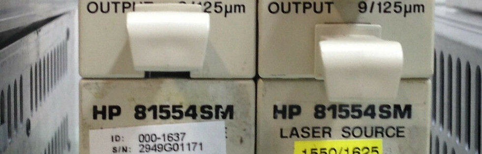 HP AGILENT 81554SM LASER SOURCE 1310/1550 nm