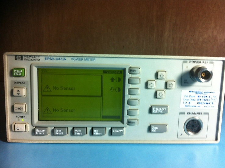 Agilent  EPM-441A Power Meter w /Opt. 002