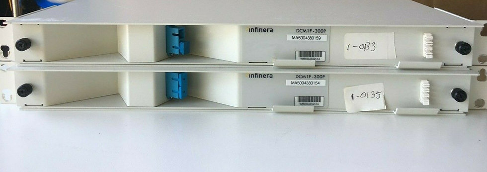 Infinera DCM1F-300P Dispersion Compensating Module Corning