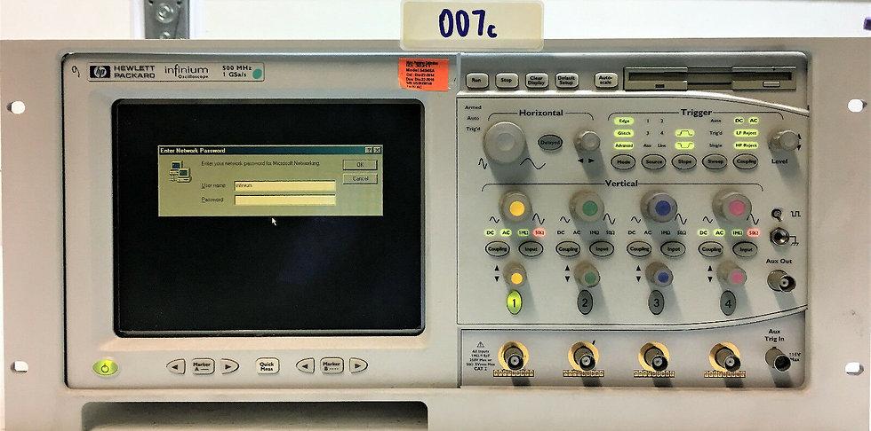 HP infinium Oscilloscope 54815A