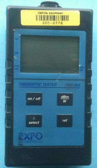 FIBEROPTIC TESTER FOT-20A