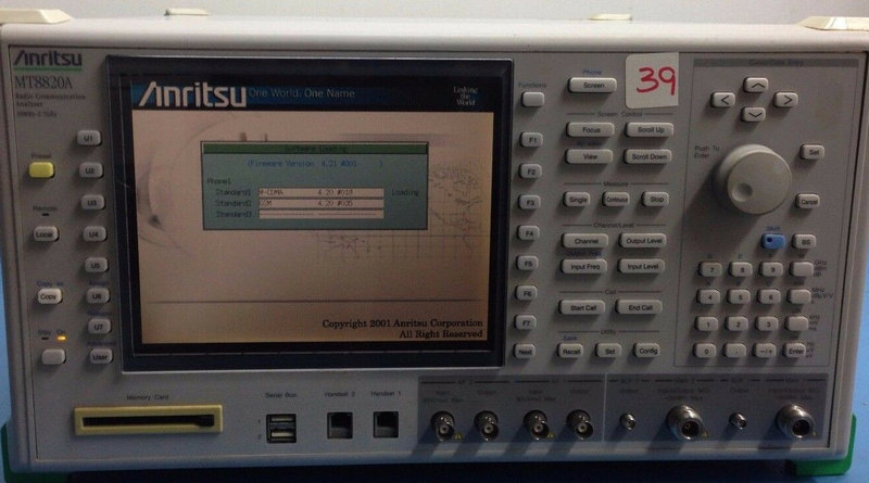 Anritsu MT8820A W/OPT 01,02,11  50MHz-2.7GHz