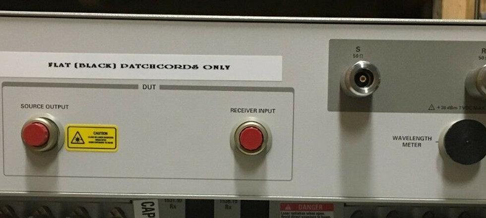 Agilent  83427A & 86037-80004 Chromatic Dispersion Test set (LOT)