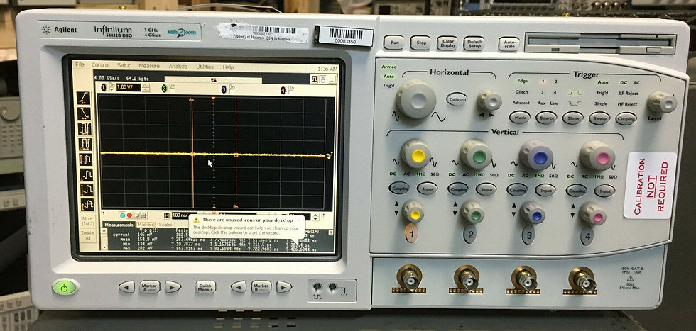 Agilent / HP Infinium  54832B 1Ghz 4GS/s 4ch Digital Oscilloscope