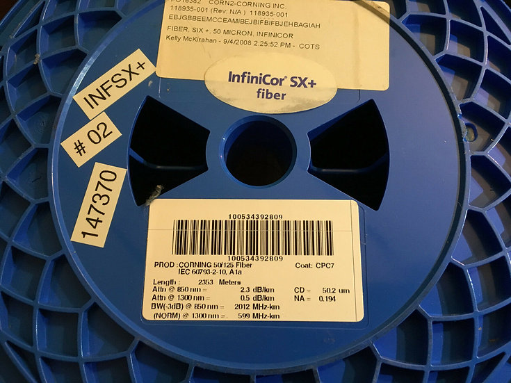 Corning InfiniCore SX+ Optical Bare Fiber 2353 M  / 2km
