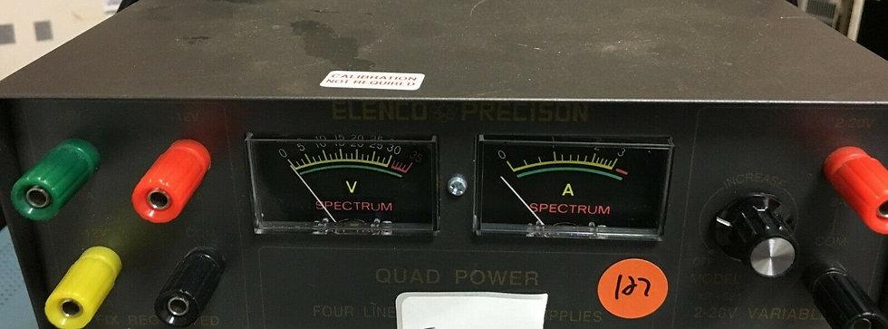Elenco Precision Quad Power Four Linear Regulated Supplies