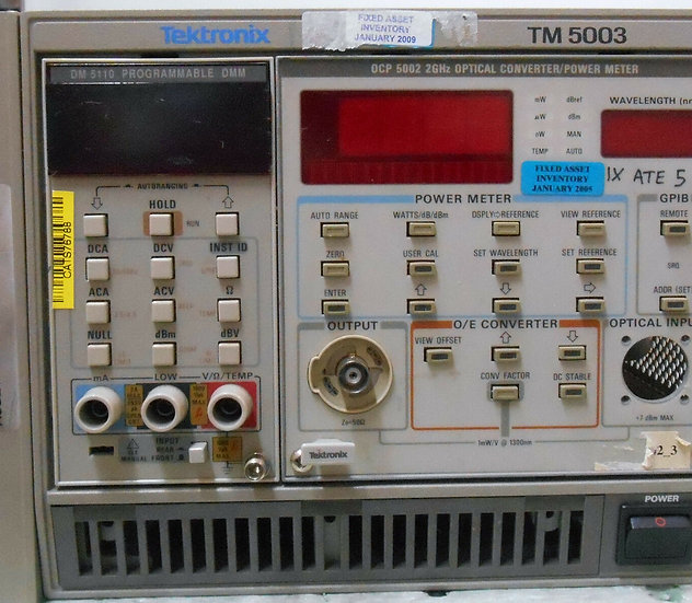TEKTRONIX TM5003 / OCP5002 / DM5110
