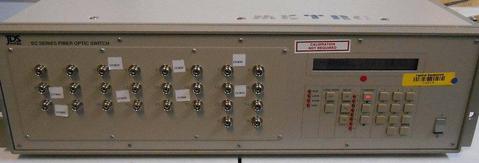 JDSU SC 2X24 SERIES SC FIBER OPTIC SWITCH