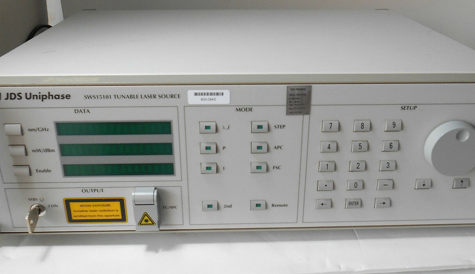 JDSU SWS15101Tunable  Laser