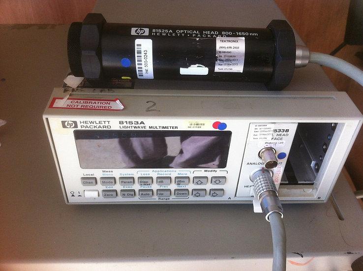 Agilent HP 8153A /81525A /81533B /81000FA