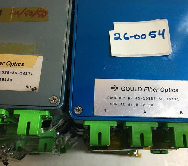 GOULD Fiber Optics Coupler Part #45-10355-50-14171