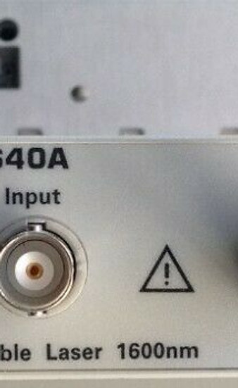 Agilent HP 81640A Tunable Laser (C+L band) option 072 - CALIBRATION Included