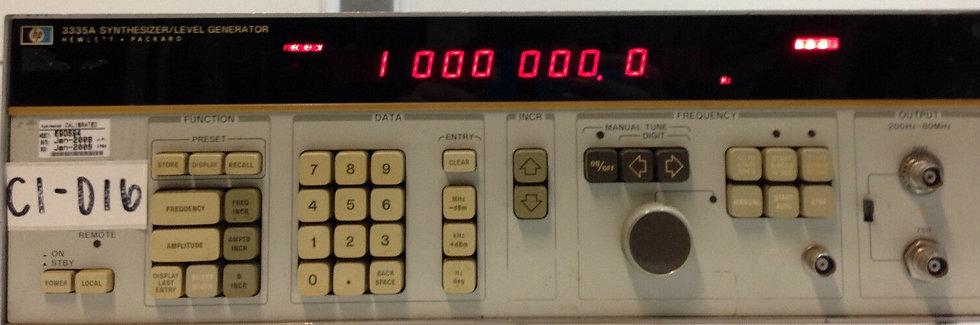 HP Agilent Keysight 3335A Synthesizer