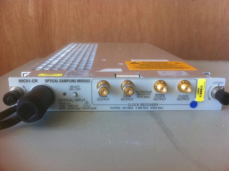 Tektronix - 80C01-CR 20GHz Optical  WITH OPTION