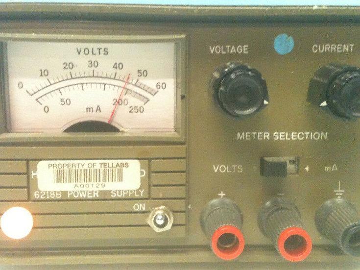 HP/Agilent 6218B Power Supply 50V/0.2A