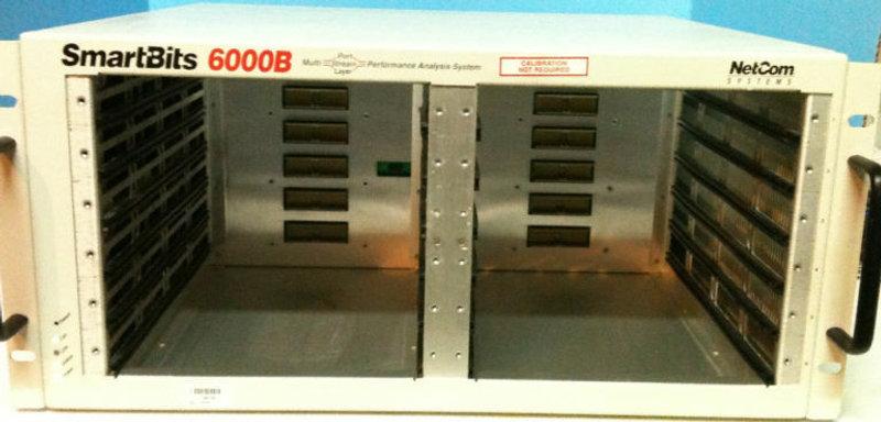 NETCOM SPIRENT SMARTBITS SMB-6000B w/SMB-0001A Controller Card