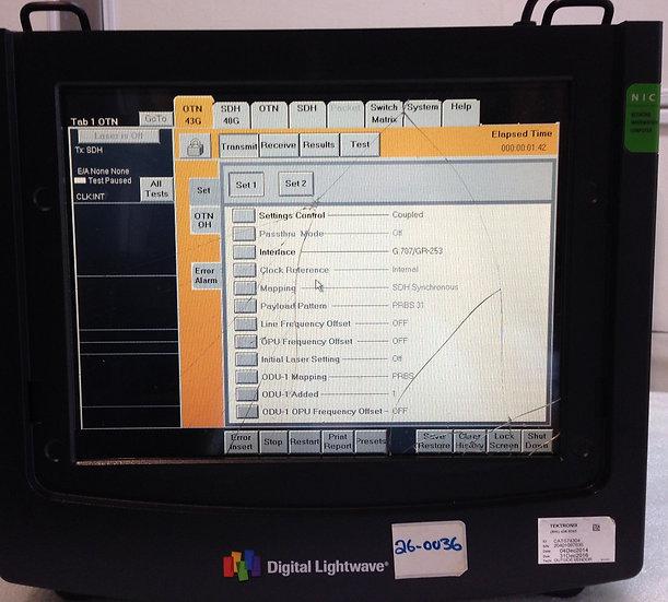 Digital Lightwave NIC PLUS NL8F10 PORTABLE NETWORK INFORMATION
