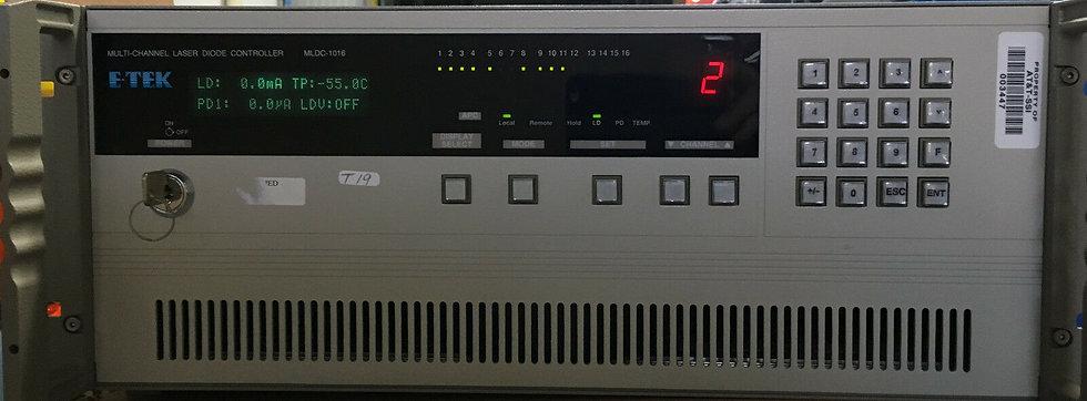E-TEK DYNAMICS MLDC1016C 16 Channel, 8 x  LASER DIODE LDD/TEC BOARDS