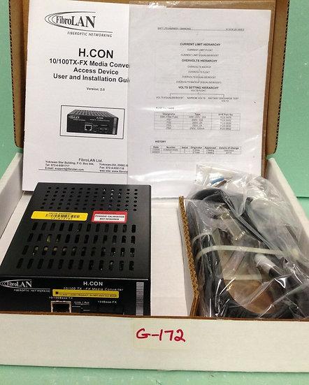 FibroLAN H.CON/MA Remotely Managed 10/100 TX – FX Media Converter