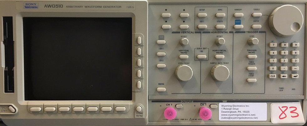 Tektronix AWG510 waveform Generator 1 Gb/s with option 03