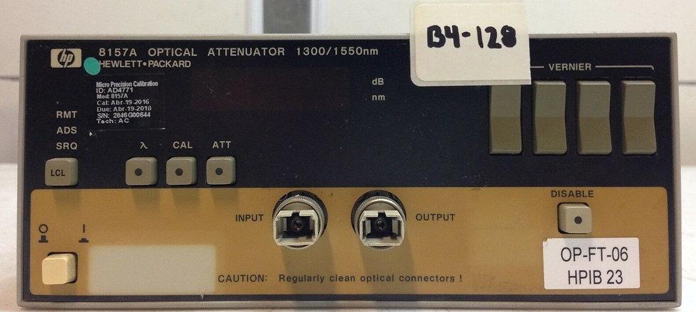 Hewlett Packard HP 8157A Optical Attenuator **For Parts**