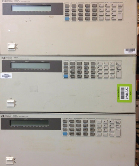 Agilent HP 6050A DC Load Mainframe Sold AS IS For Parts Only