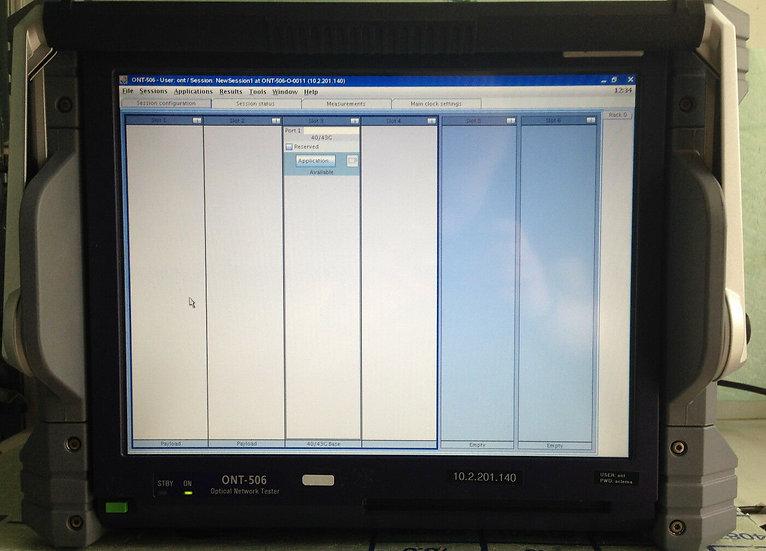 JDSU ONT-506  / 40/43GB Optical Network Tester