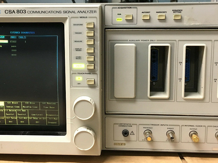 Tektronix CSA 803A Communications Signal Analyzer