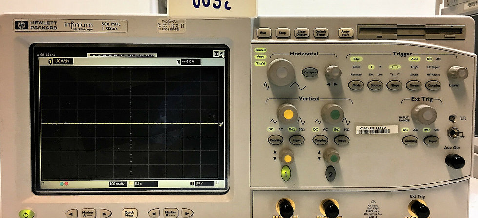 HP infinium  Oscilloscope 54810A