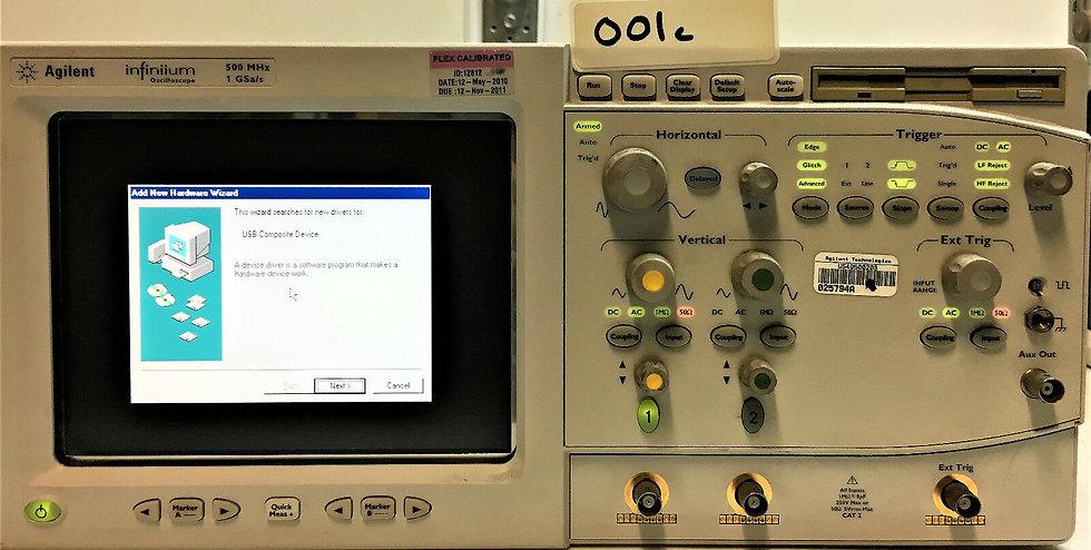 Agilent infiniium Oscilloscope 54810A