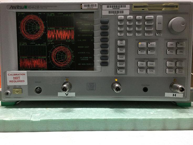 Anritsu MS4623B Vector Network Analyzer  10MHz to 6GHz With 3B,4,8,10,13