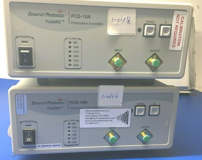 General Photonics PolaMix PCD-104-FC/APC Polarization Scramber