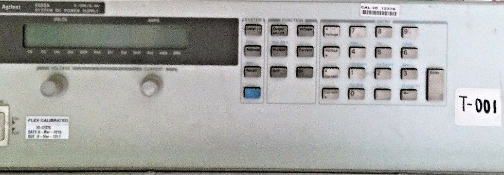 Agilent 6655A System DC Power Supply