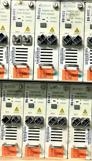 Ando AQ 8202-32p Attn module FC/LC