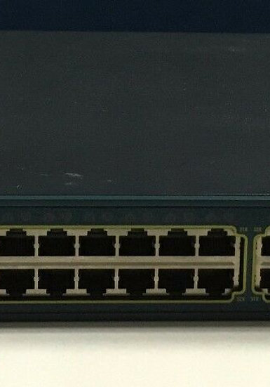 Cisco WS-C3560G-48TS-S  Catalyst 3560G Series 48 ports switch for networking.