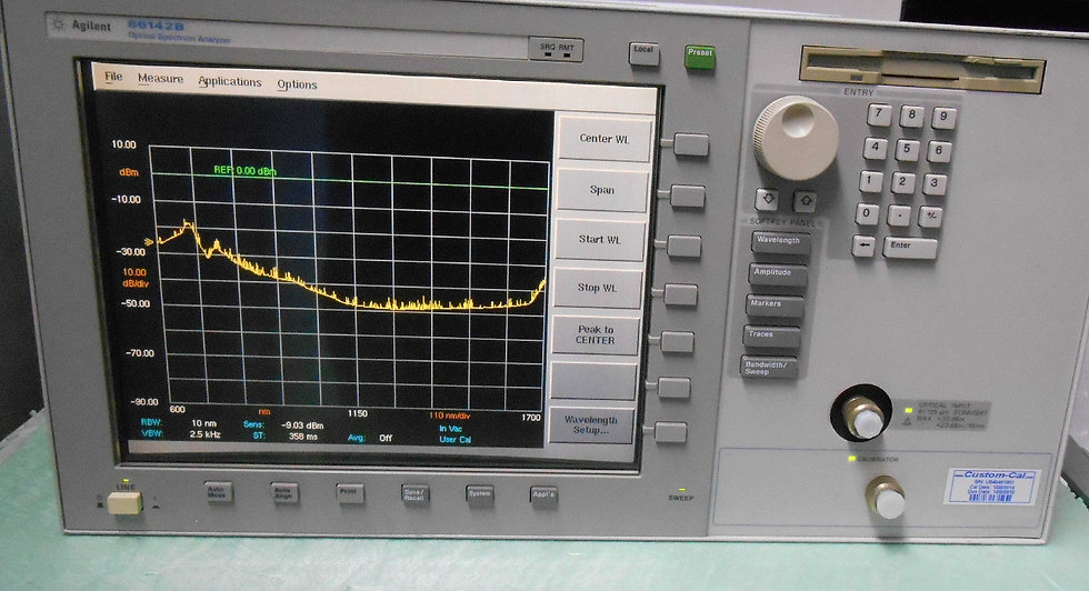 Agilent 86142A  Optical Spectrum Analyzer   OSA