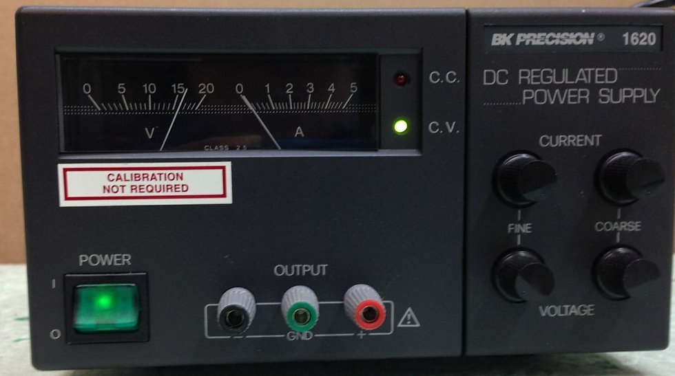 BK Precision 1620 DC Regulated Power Supply