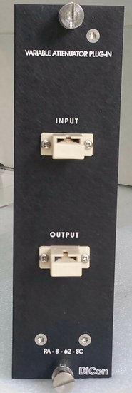 DiCon GP700 Variable Attenuator Plug In Module PA-8-62-SC