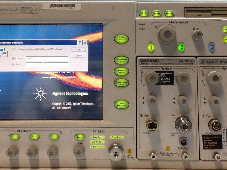 Agilent infiniium Wide-Bandwidth Oscilloscope 86100A No Option Main Frame only